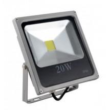Прожектор светодиодный 20W SLIM 220V белый холодный