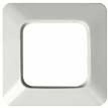 Рамка 1-постовая 2511-214K ABB Reflex белый цвет
