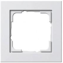 Рамка 1-я E2 Gira 021122 белый матовый