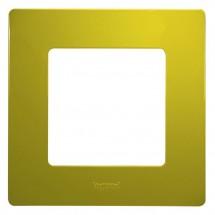 Рамка 1-постовая LEGRAND ETIKA 672541 зеленый папоротник