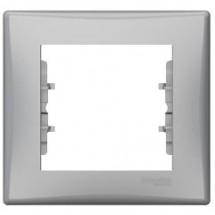Рамка 1-кратная Sedna SDN5800160 алюминий