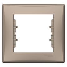 Рамка 1-я Sedna SDN5800168 титан