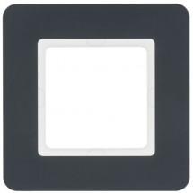Рамка 1-кратная вертикальная Berker Q.7 10116186 антрацит