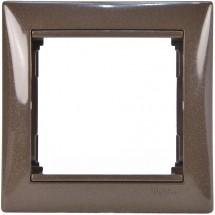 Рамка 1-постовая Legrand Valena 770001 модерн