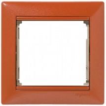 Рамка 1-постовая Legrand Valena 770011 терра