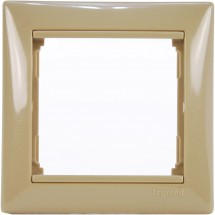 Рамка 1-постовая Legrand Valena 770021 цвет кантри