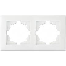 Рамка 2-постовая Erste Triumph белый цвет 9202-82,W