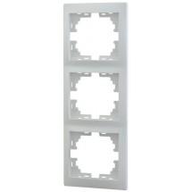 Рамка 3-кратная вертикальная LEZARD MIRA 701-0200-153