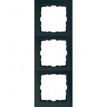 Рамка 3-постовая Berker S.1 5310138986 антрацит