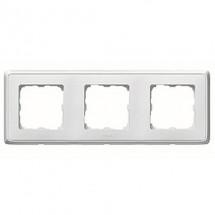 Рамка 3-постовая Legrand Cariva  773653 белый цвет