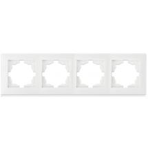 Рамка 4-постовая Erste Triumph белый цвет 9202-84,W