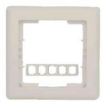 Рамка 5-постовая горизонтальная бежевый цвет HANAK GES 2120-800-1502