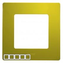 Рамка 5-постовая LEGRAND ETIKA 672545 зеленый папоротник