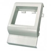 Рамка-суппорт Brava под 2 модуля  43х45мм,.PDA-BN 80 RAL9016 10443 ДКС