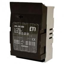 Разъединитель предохранителя HVL EK 000 100A 3p ETI 1701000
