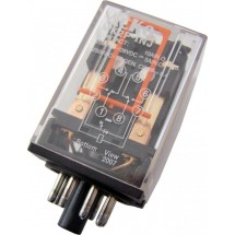 Реле электромагнитное промежуточное МК2Р AС 220V Укрем АсКо A0090010001
