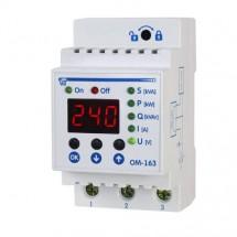 Реле ограничения мощности Новатек ОМ-163 220/230В 50/60Гц 3Вт IP10