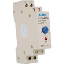 Реле времени NTE8-480A (STE8-480A) Укрем АсКо A0090050005 5А 220V ІР30 задержка откл. 300-480с
