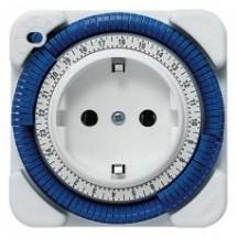 Реле времени Theben-timer 26 (Германия), электромеханическое, розеточное (шаг 15 минут) 16А. TH 0260030