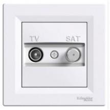 Розетка TV-SAT ASFORA белая EPH3400421.