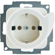 Розетка Z с заземлением / катапультой 16А 20ЕUCDR-214 ABB Reflex белый цвет