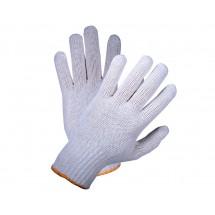 Рукавицы рабочие VIROK трикотажные белые 83V003 (5 ниток;70%-бавовна,30%-поліестер)