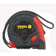 Рулетка VOREL с 3-мя фиксаторами 2м, 16мм 10122