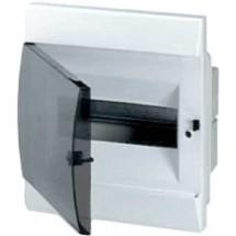 Щит пластиковый ABB Unibox 8 модулей врезной с прозрачной дверцей ІР40 1SL0510A00