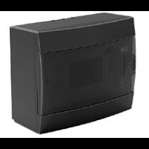 Бокс пластиковый Horoz 9 модулей накладной черный