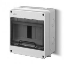 Щит пластиковый накладной LUX-PLUS 1952-01 RN1/7 N+PES-BOX  ІР55 Elektro-Plast