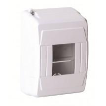 Щит пластиковый 4 автомата (накладной) DE-PA 91004
