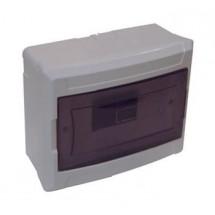 Щит пластиковый 6 автоматов (накладной) DE-PA, 91006