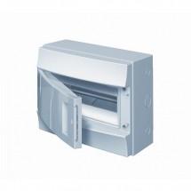 Щит пластиковый АВВ 12 модулей (накладной) не прозрачная крышка Mistral41, 1SPЕ007717F0410