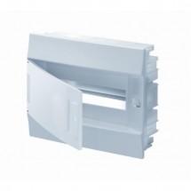 Щит пластиковый АВВ 12 модулей (врезной) не прозрачная крышка Mistral41, 1SLМ004100А1103