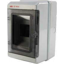 Щит пластиковый на 8 модулей 12743 (накладной) IP 65