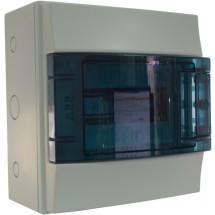Щит АВВ наружной установки на 8 модулей Mistral65 1SL1201A00