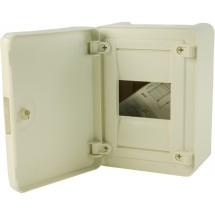 Щит пластиковый Hager 12 модулей (1х12) (накладной) непрозрачная дверца GOLF VS112РD