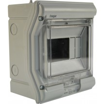Щит пластиковый на 3 модуля накладной VЕ103D IP65 VEKTOR (прозрачная дверка)