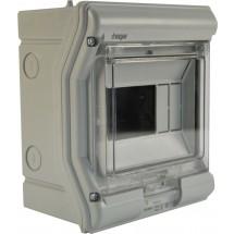 Щит пластиковый на 6 модулей накладной VЕ106D IP65 VEKTOR (прозрачная дверка)