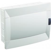 Щит пластиковый Makel 12 модулей внутренний 28001222 белая дверца