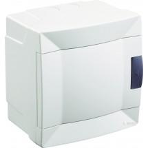 Щит пластиковый Makel 4 модуля наружный 28001227 белая дверца