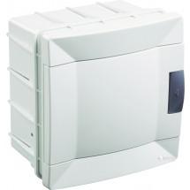 Щит пластиковый Makel 4 модуля внутренний 28001219 белая дверца