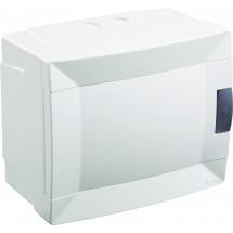 Щит пластиковый Makel 6 модулей наружный 28001228 белая дверца
