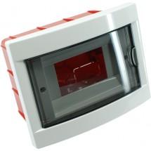 Корпус пластмассовый, внутренней установки, 4 модуля Viko