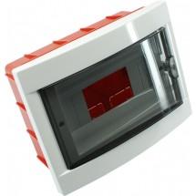 Корпус пластмассовый, внутренней установки, на 8 модулей VIKO