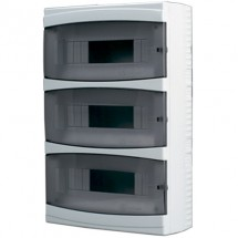 Щиток пластиковый 36 модулей BORSAN BR-812 навесной 470x285x110 IP40