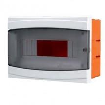 Щиток пластиковый 9 модулей BORSAN BR-805 внутренний 218x160x105 мм IP40