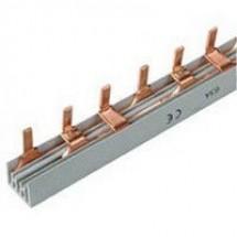 Шина трехполюсная на 12 модулей Schneider Electric 10391 гребенчатая