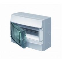 Шкаф навесной ABB 12 модулей Mistral65 1SL1202A00 прозрачная крышка