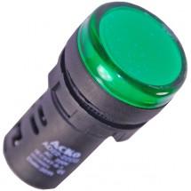 Сигнальная арматура (зеленая) АD22 - 22DS 220V